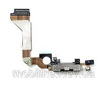 IPhone 4 шлейф разъема зарядки белый