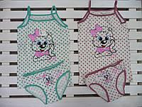 Комплект для девочки маечка+трусики Donella размер 4-5 лет