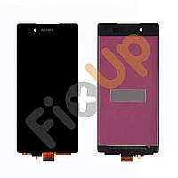 Дисплей Sony Xperia Z3 Plus DS E6533, Z4 E6553 с тачскрином в сборе, цвет черный, большая микросхема