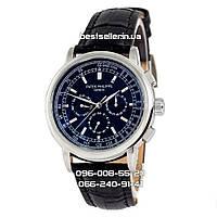 Часы Patek Philippe Geneve Classic (механика) black/silver/black., фото 1