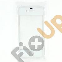 Стекло для iPhone 4, цвет белый, уценка