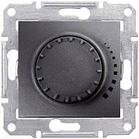 Светорегулятор (диммер) индуктивный поворотный 60-325 Вт/ВА Schneider Electric Sedna Графит SDN2200470