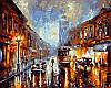 Рисование по номерам 40×50 см. Лос-Анджелес 1920 Художник Леонид Афремов