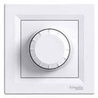 Светорегулятор (диммер) емкостной поворотный проходной 20-315 Вт/ВА Schneider Electric Asfora Белый EPH6600121