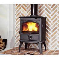 Чугунная мульти печь Dovre 250/E6 коричневая майолика  - 6 кВт