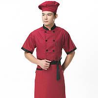 Комплект поварской, униформа для кухни, рабочая одежда поварская
