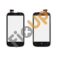 Тачскрин (сенсор) Nokia 510 Lumia, цвет черный