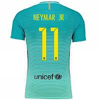 Футбольная форма Барселона Неймар (Neymar JR) 2016-2017 Гостевая, фото 1