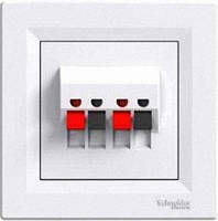 Аудиорозетка Schneider Electric Asfora Белый EPH5700121