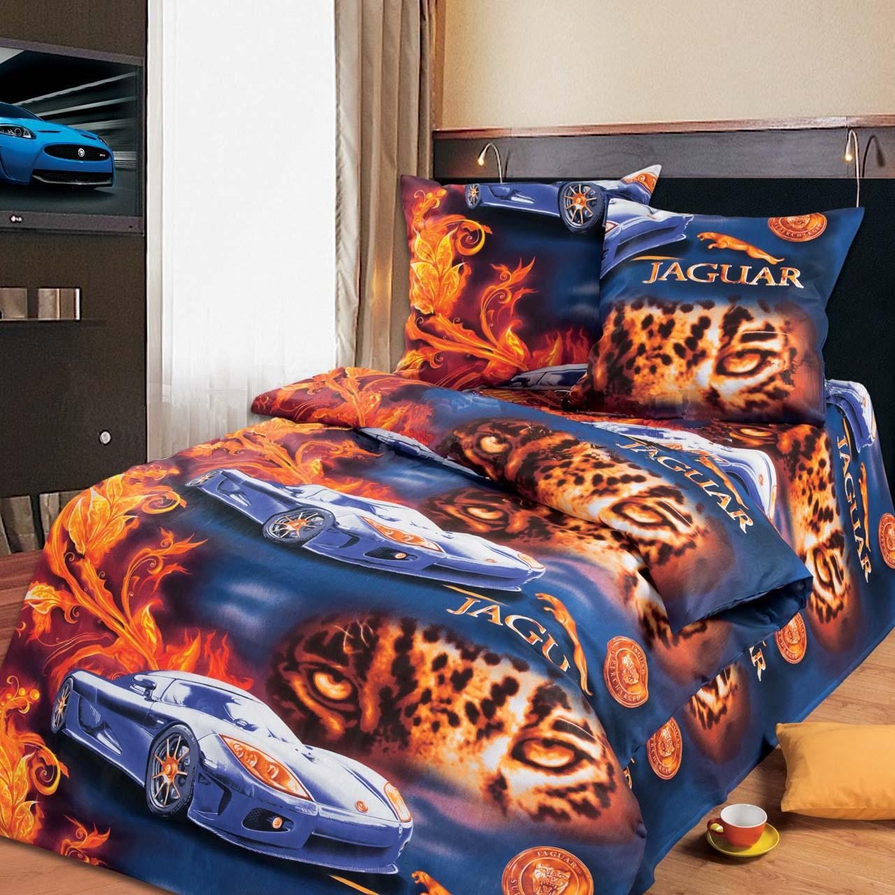 Подростковый постельный комплект «Ягуар», KidsDreams