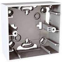 Коробка монтажная для наружной проводки 1 место Schneider Electric Unica Белый MGU8.002.18