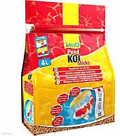 Корм для карпа Кои Tetra Pond Koi Sticks 4л / 650 гр (основное питание)