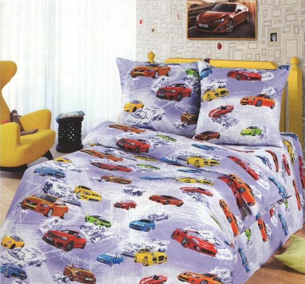 Подростковый постельный комплект «Автосвіт», KidsDreams