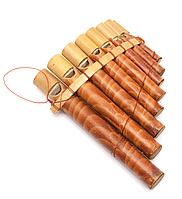 Флейта пана из бамбука