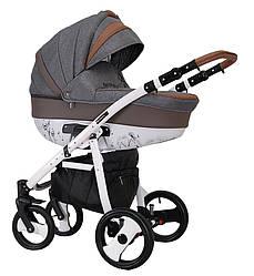 Детская универсальная коляска 2 в 1 Coletto Savona Decor SD04