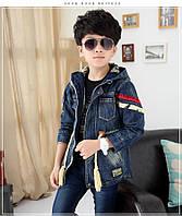 Джинсовое пальто для мальчика