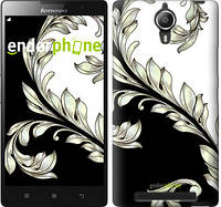 "Чехол на Lenovo P90 White and black 1 ""2805u-234"""