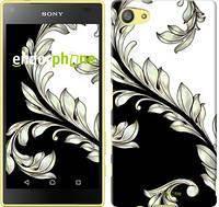 """Чехол на Sony Xperia Z5 Compact E5823 White and black 1 """"2805u-322"""""""