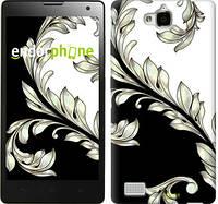 """Чехол на Huawei Y6 Pro White and black 1 """"2805u-355"""""""