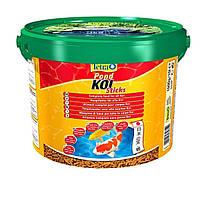 Корм для карпа Кои Tetra Pond Koi Sticks 10л / 1,5 кг (основное питание)