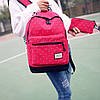 Школьный рюкзак в горошек с пеналом, фото 2