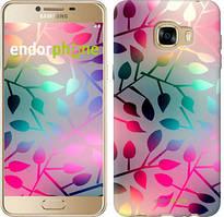 """Чехол на Samsung Galaxy C5 C5000 Листья """"2235u-301"""""""