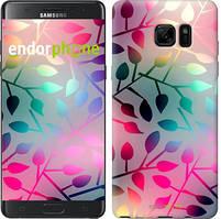 """Чехол на Samsung Galaxy Note 7 Duos N930F Листья """"2235u-346"""""""