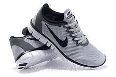 Кросівки чоловічі Nike free run 3.0 сірі