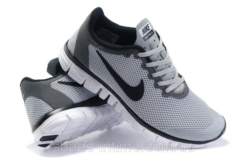 88f4fd6d Кроссовки мужские Nike free run 3.0 серые, цена 899 грн., купить в ...