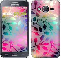 """Чехол на Samsung Galaxy J2 J200H Листья """"2235c-190"""""""