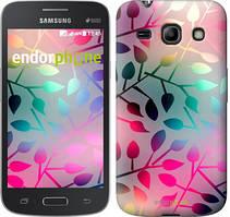 "Чехол на Samsung Galaxy Star Advance G350E Листья ""2235u-210"""