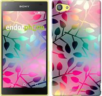 """Чехол на Sony Xperia Z5 Compact E5823 Листья """"2235u-322"""""""