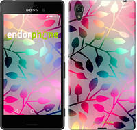 """Чехол на Sony Xperia XA Листья """"2235c-399"""""""