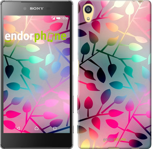 """Чехол на Sony Xperia Z5 Листья """"2235u-274"""""""