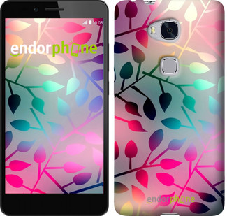"""Чохол на Huawei Honor 5X Листя """"2235u-176"""""""