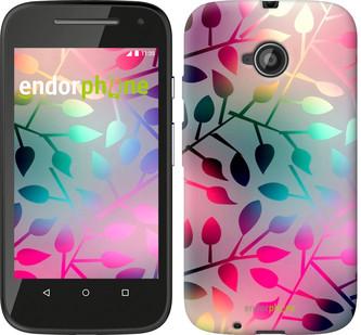 """Чехол на Motorola Moto E2 Листья """"2235u-377"""""""