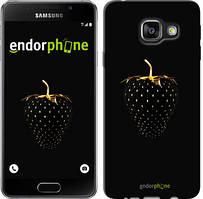 """Чохол на Samsung Galaxy A3 (2016) A310F Чорна полуниця """"3585c-159"""""""