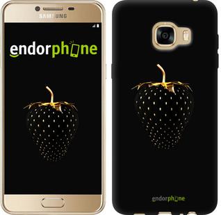 "Чохол на Samsung Galaxy C5 C5000 Чорна полуниця ""3585u-301"""