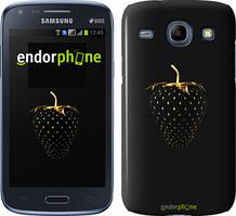 """Чохол на Samsung Galaxy Core i8262 Чорна полуниця """"3585c-88"""""""