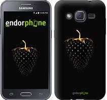 "Чохол на Samsung Galaxy J2 J200H Чорна полуниця ""3585c-190"""