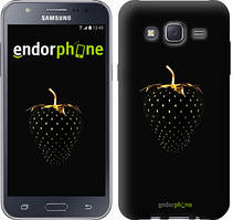 "Чехол на Samsung Galaxy J5 J500H Черная клубника ""3585c-100"""