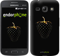 """Чехол на Samsung Galaxy Star Advance G350E Черная клубника """"3585u-210"""""""