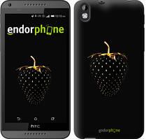 "Чохол на HTC Desire 816 Чорна полуниця ""3585u-169"""