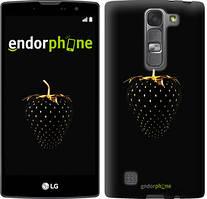 """Чехол на LG G4s H734 Черная клубника """"3585c-389"""""""