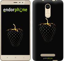 "Чехол на Xiaomi Redmi Note 3 pro Черная клубника ""3585c-335"""