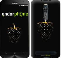 """Чохол на Asus Zenfone 2 ZE551ML Чорна полуниця """"3585c-122"""""""