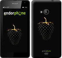 """Чехол на Microsoft Lumia 640 Черная клубника """"3585c-273"""""""