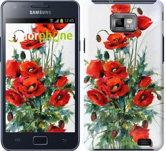 "Чехол на Samsung Galaxy S2 Plus i9105 Маки ""523c-71"""