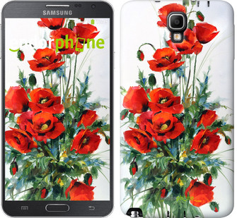 "Чехол на Samsung Galaxy Note 3 Neo N7505 Маки ""523u-136"""