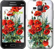 "Чехол на Samsung Galaxy J1 J100H Маки ""523c-104"""